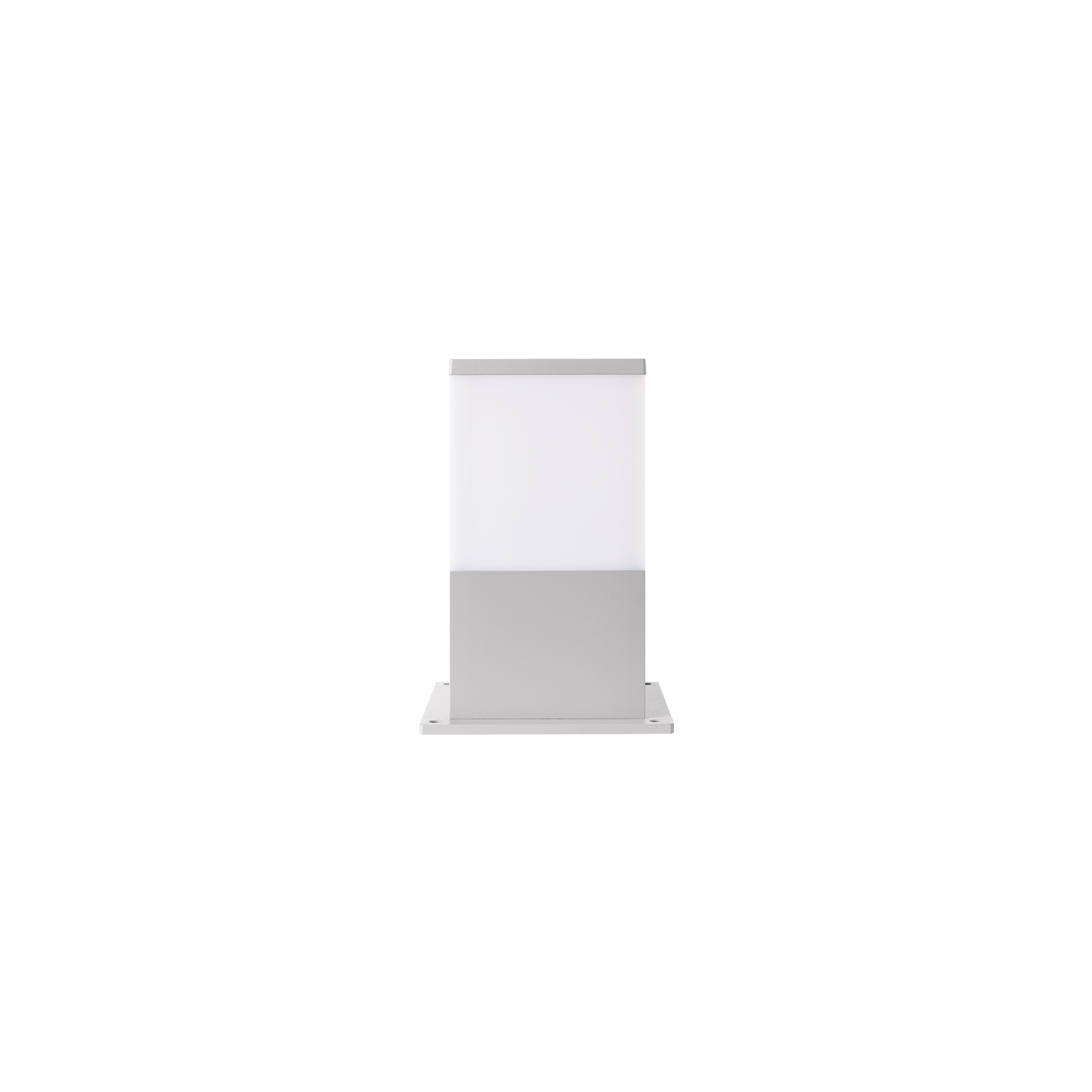 PROTON Square Opal - Pillar Top Light